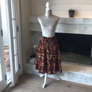 Jones New York Ikat Printed Skirt EUC!